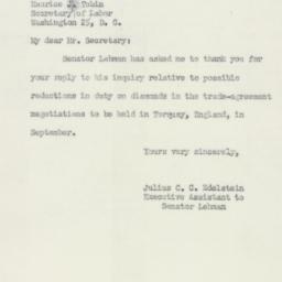 Letter : 1950 June 20