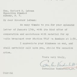 Letter : 1936 January 20