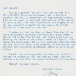 Letter : 1955 February 7