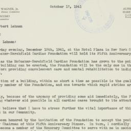 Letter : 1941 October 17