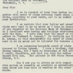 Letter : 1932 May 5