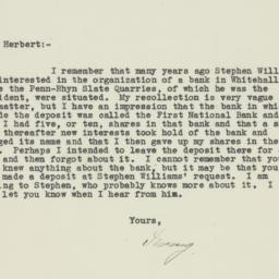 Letter : 1932 May 9