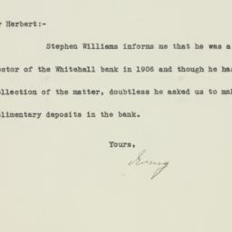 Letter : 1932 May 13
