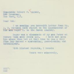 Letter : 1934 October 21