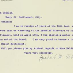 Letter : 1917 April 20