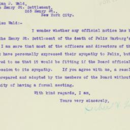 Letter : 1921 October 28