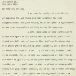 Letter : 1928 December 10