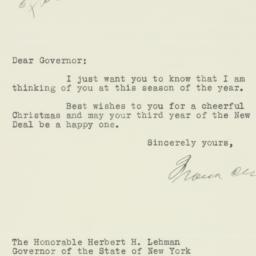 Letter : 1934 December 20