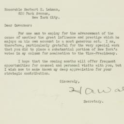 Letter : 1940 July 27