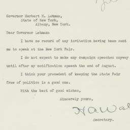 Letter : 1940 August 7