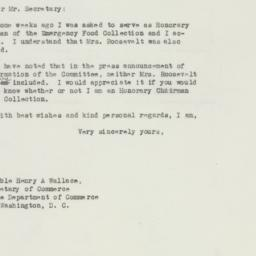 Letter : 1946 May 6