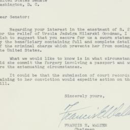Letter : 1956 April 25