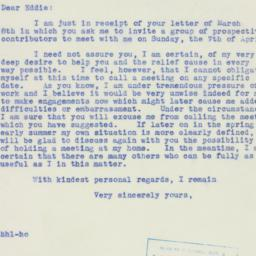 Letter : 1940 March 11