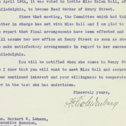 Letter : 1933 May 9