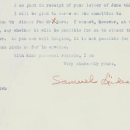 Letter : 1936 June 10