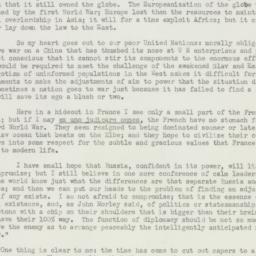 Letter : 1951 January 12