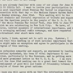 Letter : 1942 May 29