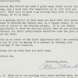 Letter : 1942 November 17