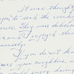 Letter : 1962 July 2