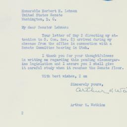 Letter : 1950 May 15