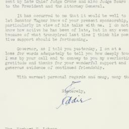 Letter : 1948 April 6