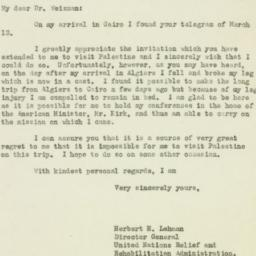 Letter : 1944 March 29