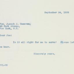 Letter: 1935 September 24