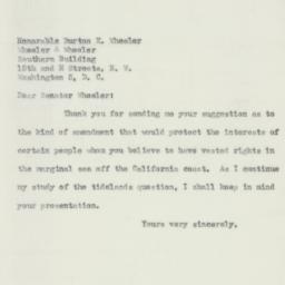 Letter : 1951 April 4
