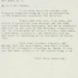 Letter : 1932 October 6
