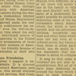 Clipping : 1948 February 1