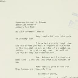 Letter : 1936 January 25