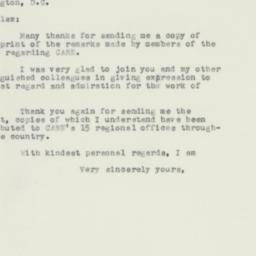 Letter : 1956 February 18