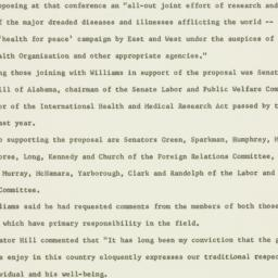 Press release : 1960 April 17