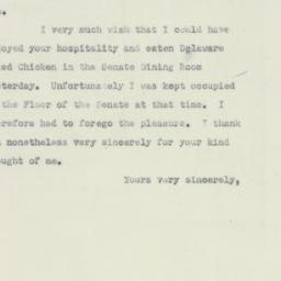 Letter : 1951 June 8