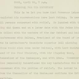Letter : 1943 April 26