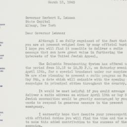 Letter : 1940 March 13