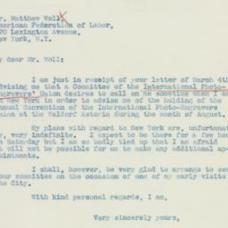 Letter : 1936 March 5