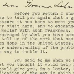Letter: 1943 April 19