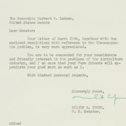 Letter : 1950 March 30
