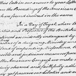 Document, 1774 December 10