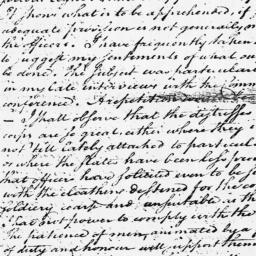 Document, 1779 May 11