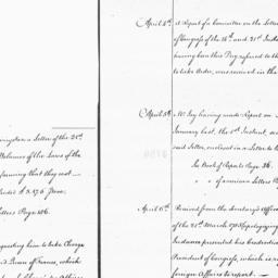 Document, 1785 April 1-Apri...