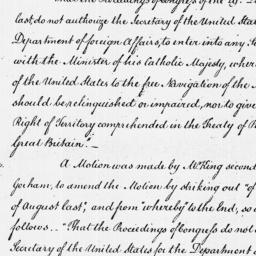Document, 1787 May 11