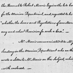 Document, 1785 April 11
