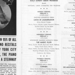 program, 2 February 1946