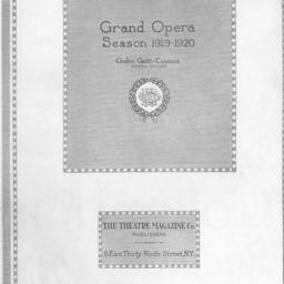 program, 1 April 1920