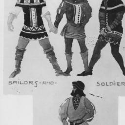 sailors, soldiers, steersmann