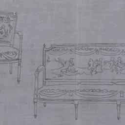 sketch of chairs