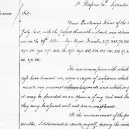 Document, 1781 September 20