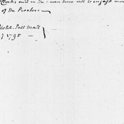 Document, 1795 January 20